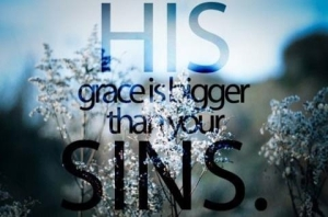 Grace bigger than sin